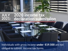 2020 income tax declaration submission